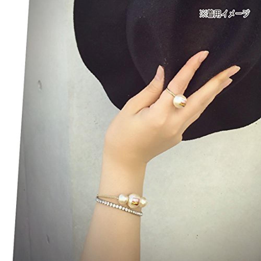 MARVEL cotton pearl accessories bracelet logo SPAC482R
