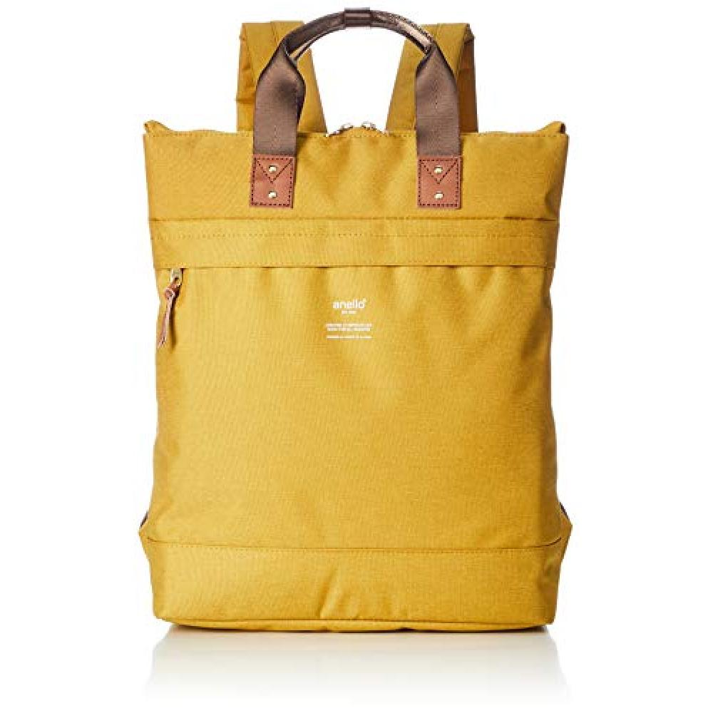 [Anero] 2WAY tote type backpack ATELIER AT-C3166 yellow