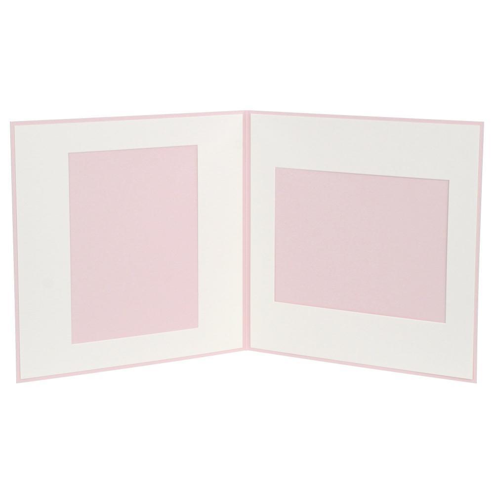 HAKUBA photo mount paper SQ (Square) No.171 6 off two-sided pink M171-PKSQ6-2