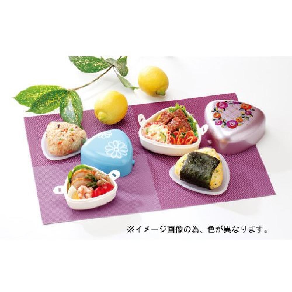 Fukui Craft Triangle Rice Ball Small Rose Pink ZA-0998