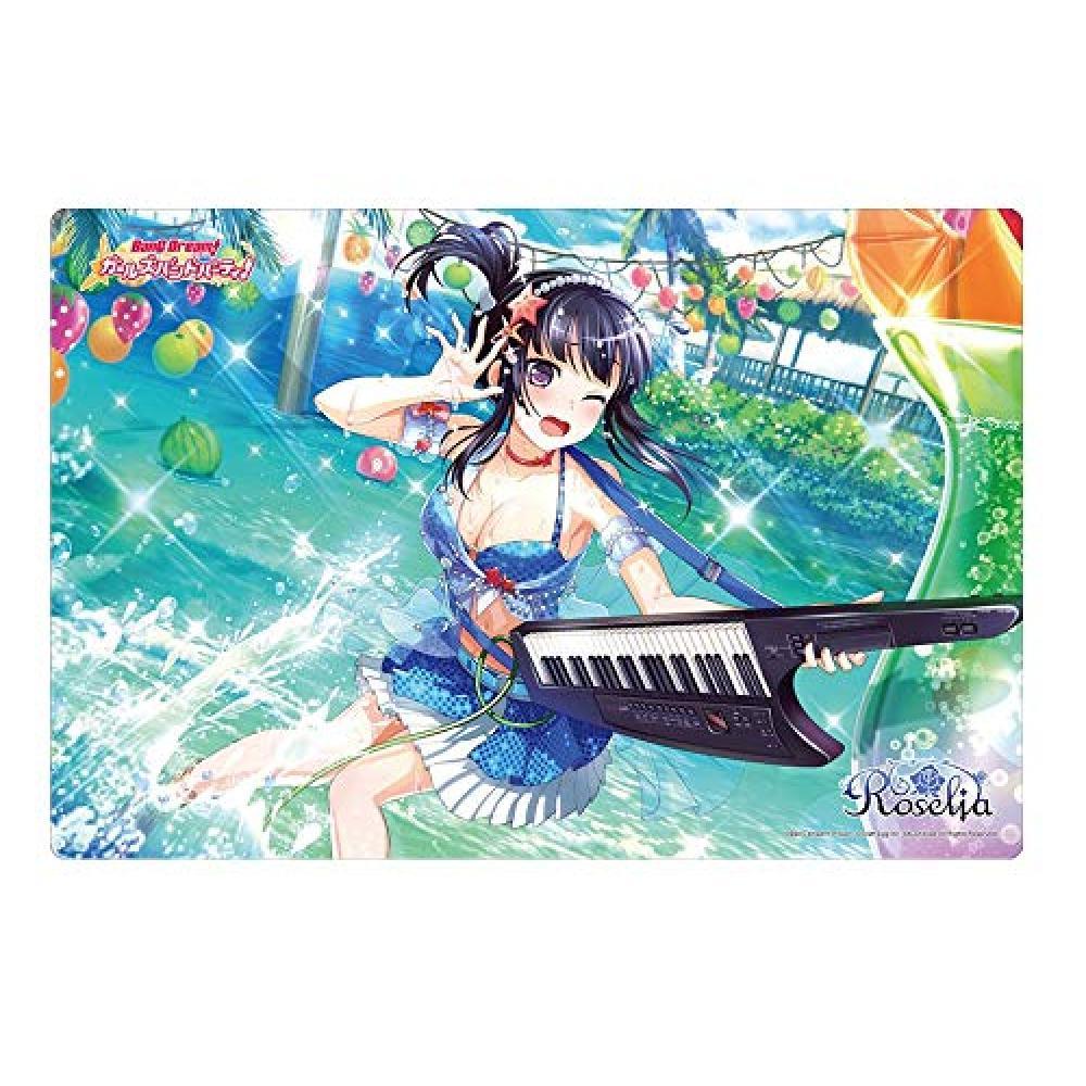 "Bushiroad rubber mat collection Vol.282 Bandori! Girl band party! ""Platinum Rinko"""