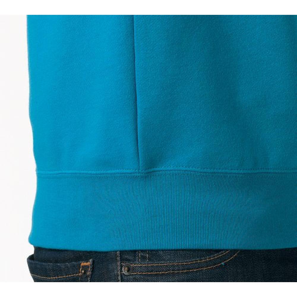 (United Athletes) United Athle 10.0 oz crew neck sweatshirt (back pile) 504401 001 White XL