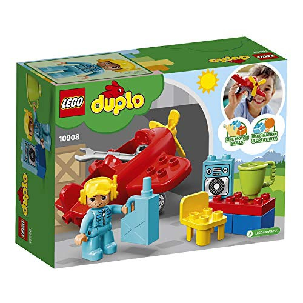 LEGO (LEGO) Duplo pilot and airplane 10908