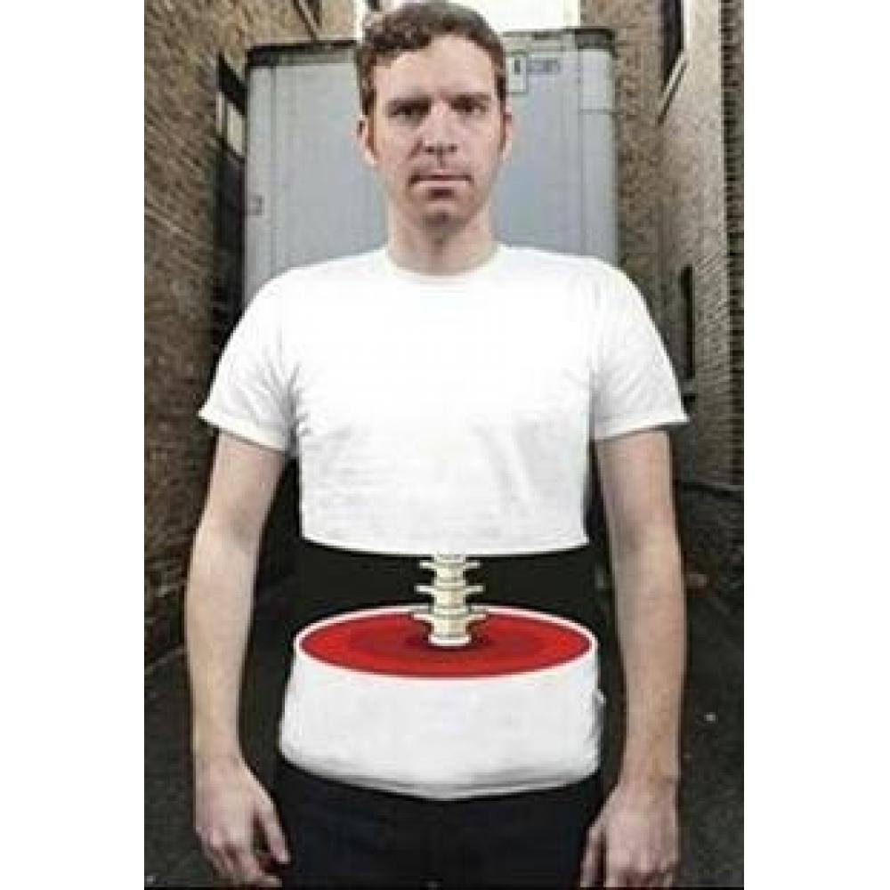 3D T-shirt costume costume L size