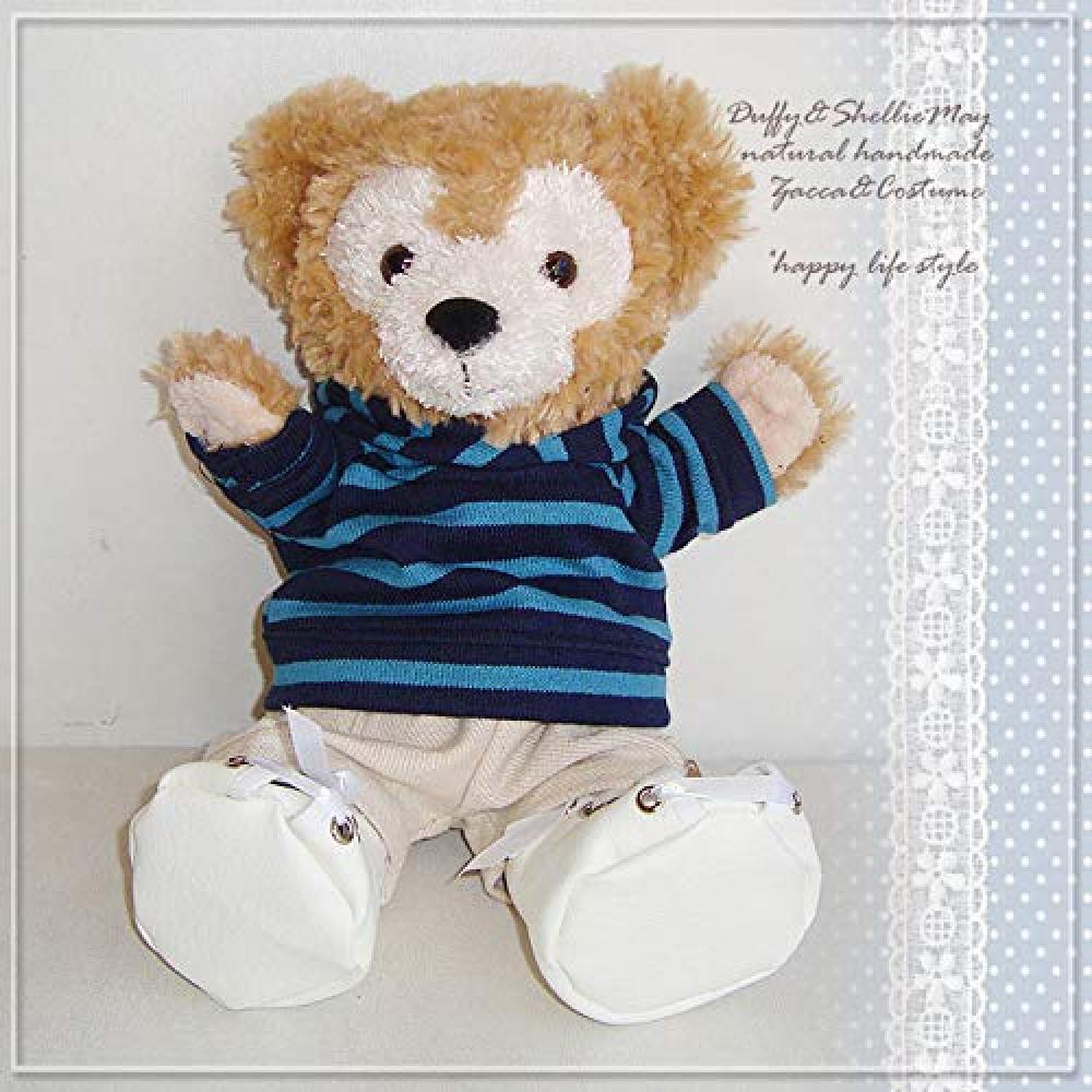 Duffy Sherry Mei Costume Hand Puppet Size Blue Border Hoodie and Pants pk7-hp