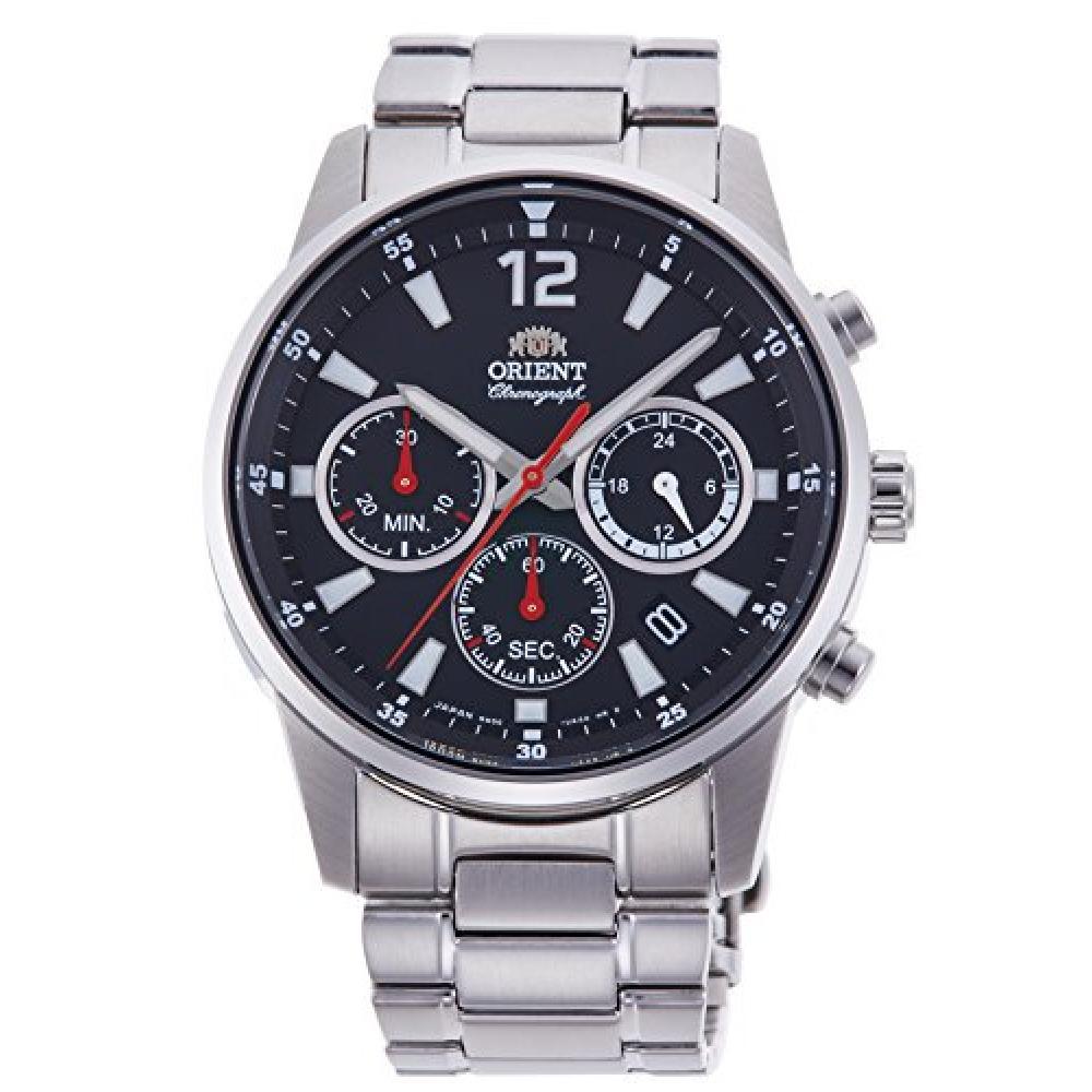 ORIENT sporty chronograph quartz watch RN-KV0001B Men's