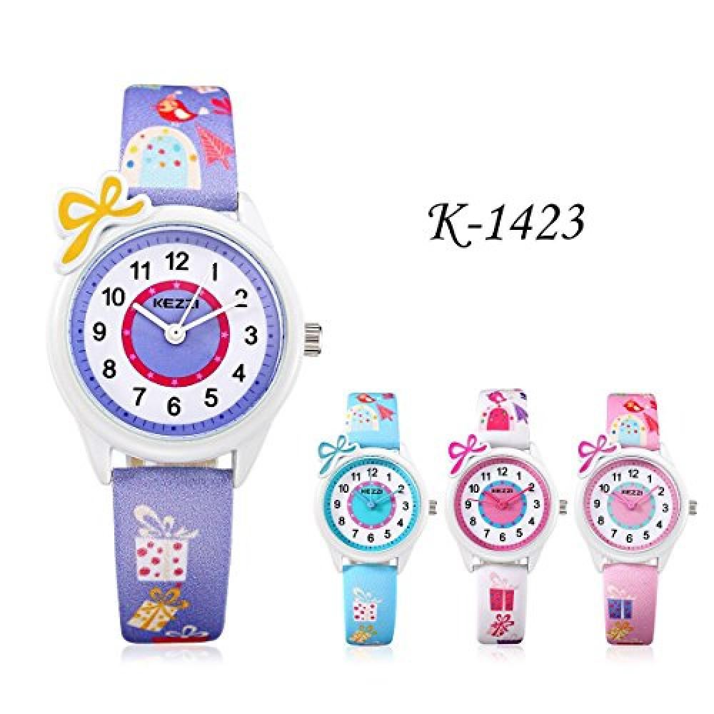 Kezzi Kids Wrist Watch for Girls k1423 Blue