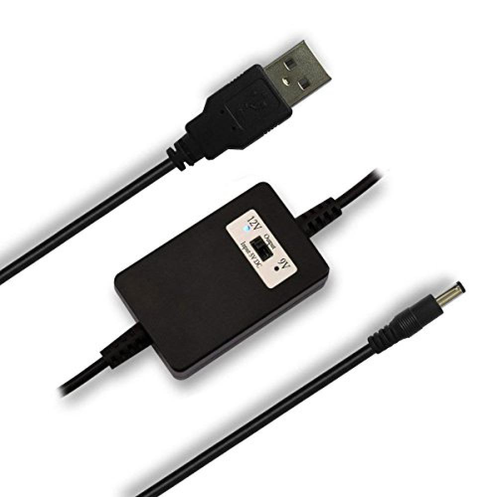 iNepo USB Booster Module USB Cable Voltage Conversion for DC V, DC9 V and DC V Convertable Phone
