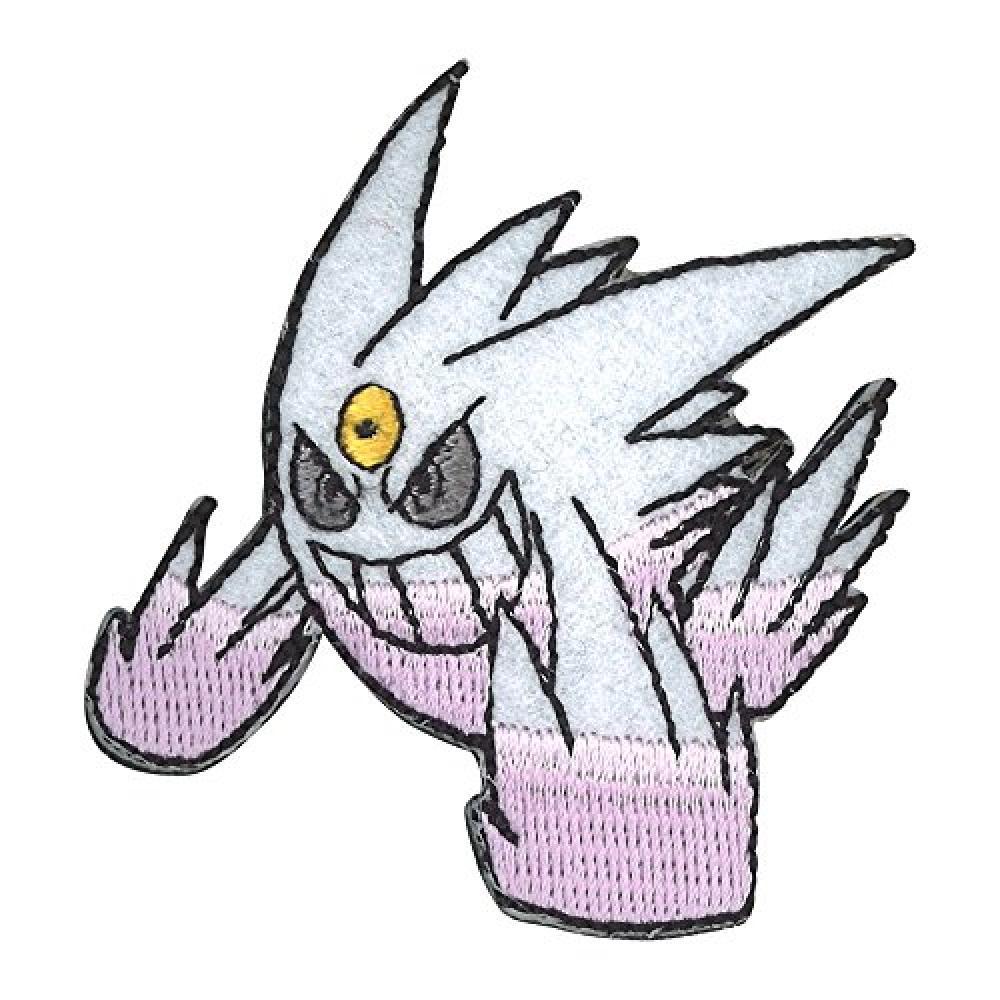Minoda Pokemon XY & Z embroidery Dekobajji white Megagenga T01D0952