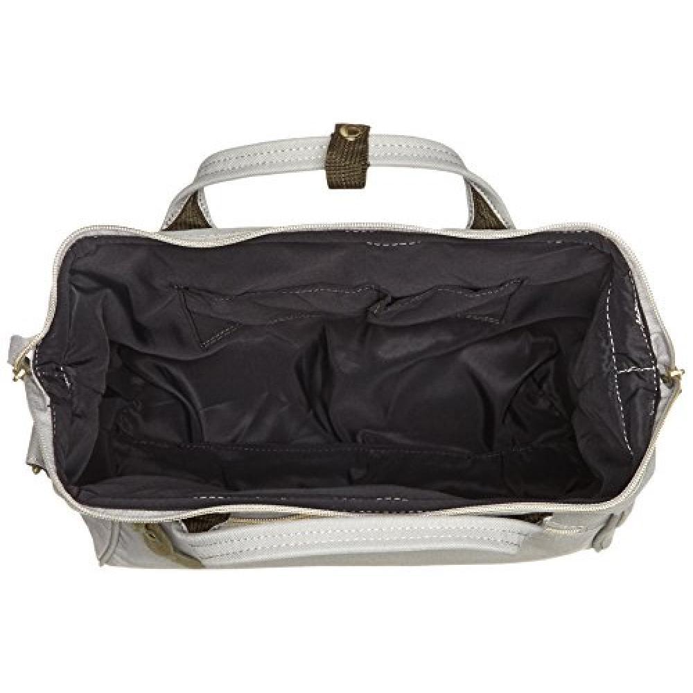 [Anero] Clasp 2way shoulder bag CROSS BOTTLE AT-H0852 Ladies light gray