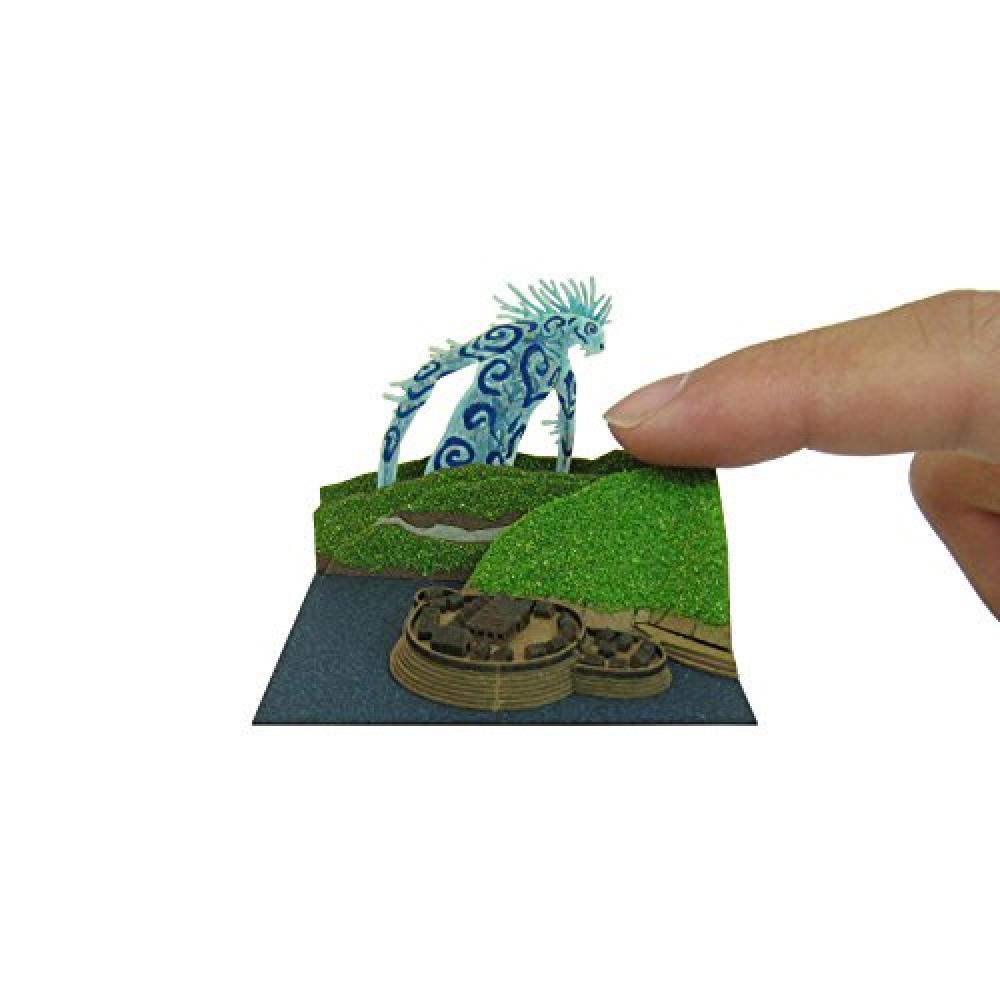 Sankei Studio Ghibli mini Princess Mononoke Didarabotchi non-scale paper craft MP07-44