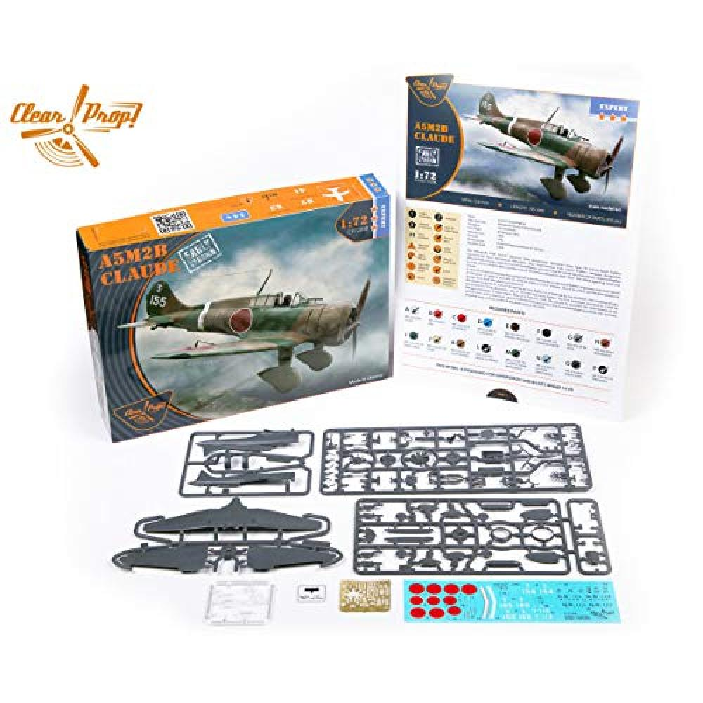 Clear Prop 1/72 Japanese Navy ninety-six expression two items dimorphism aboard fighter initial type plastic model CPU72008