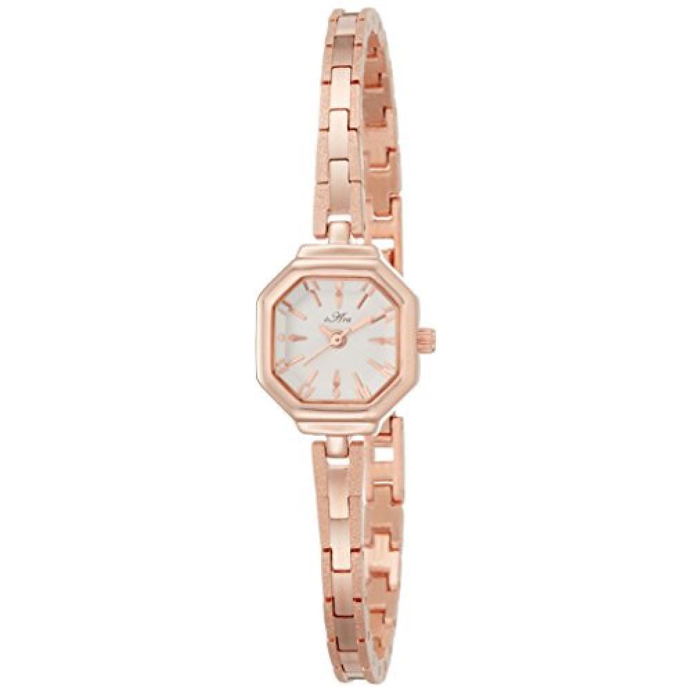 Fieldwork watch Fashion Watch octagonal antique bracelet pink gold ST073-3 Ladies