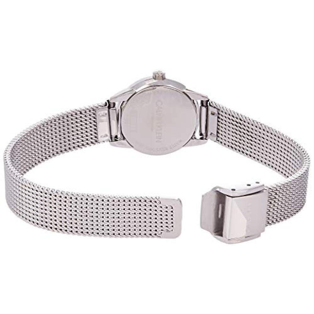 CALVIN KLEIN watch Minimal mesh belt ready K3M2312Y Ladies