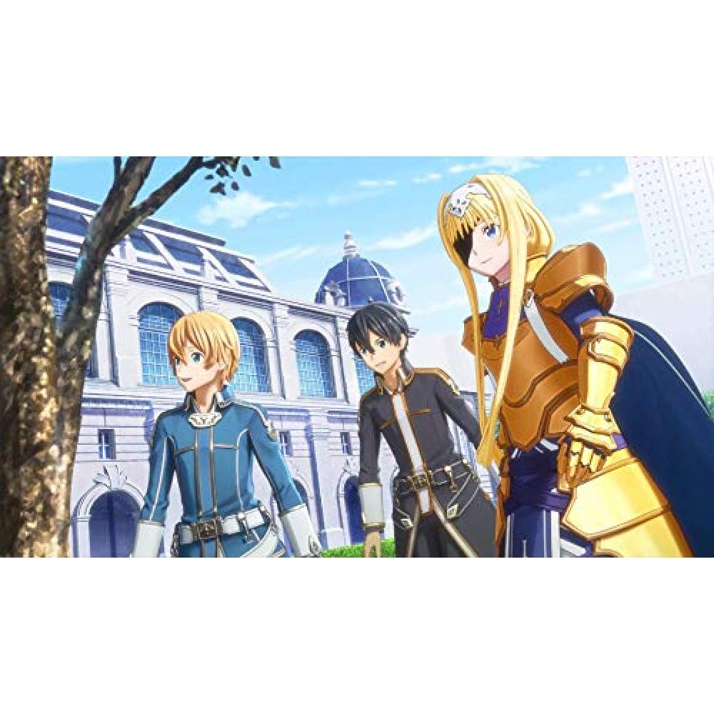 """[PS4] Sword Art Online Alicization Licorice [Early purchase privilege] Product code (enclosed) where you can obtain """"4 kinds of original costume design contest costumes"""" etc. in the game"""