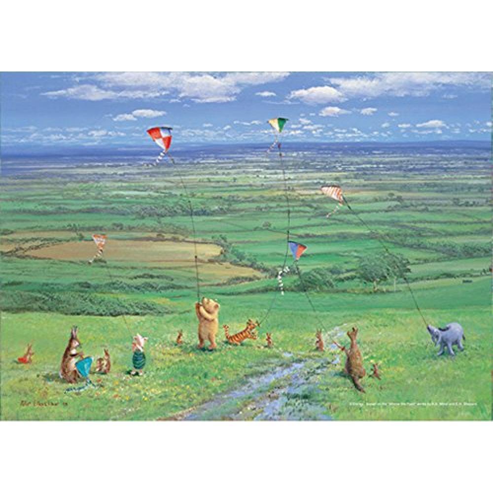 108 Piece Jigsaw Disney Character Kite Flying Days (18.2x25.7cm)
