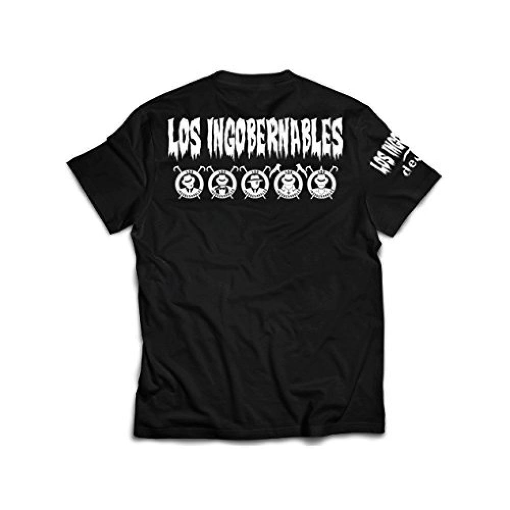 L · I · J T-shirt (Black × White) M