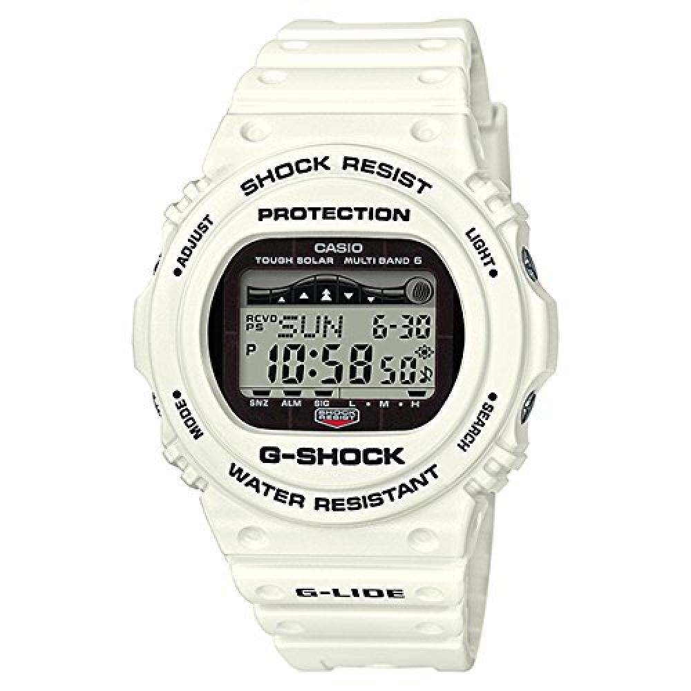 [Casio] CASIO G-Shock G-SHOCK G-LIDE G-LIDE G-Ride Radio Solar Digital Multifunctional 20 ATM Water Resistant White White GWX-5700CS-7JF Wrist Watch []