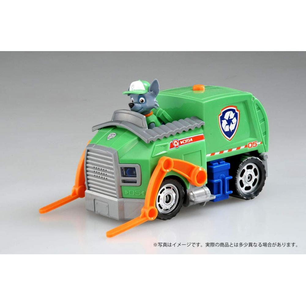 Paw Patrol sound vehicle (with Figure) Rocky clean cruiser