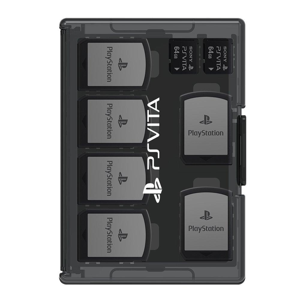 Slim card case 12+4 for PlayStationVita black