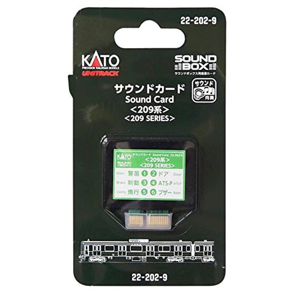 KATO N Gauge Sound Card Series 209 22-202-9 Model Train Supplies