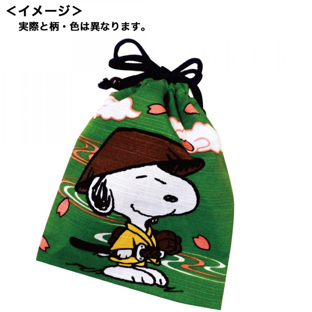 About on top of the peanut Snoopy shantung purse cherry wood H20cm x W15.8cm SNKN1269