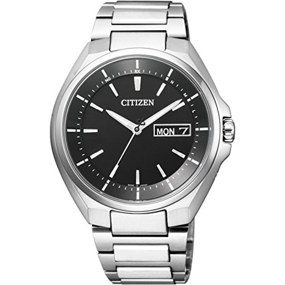 CITIZEN watch ATTESA Atessa Eco-Drive Eco-drive radio clock Day-Date display AT6050-54E Men's