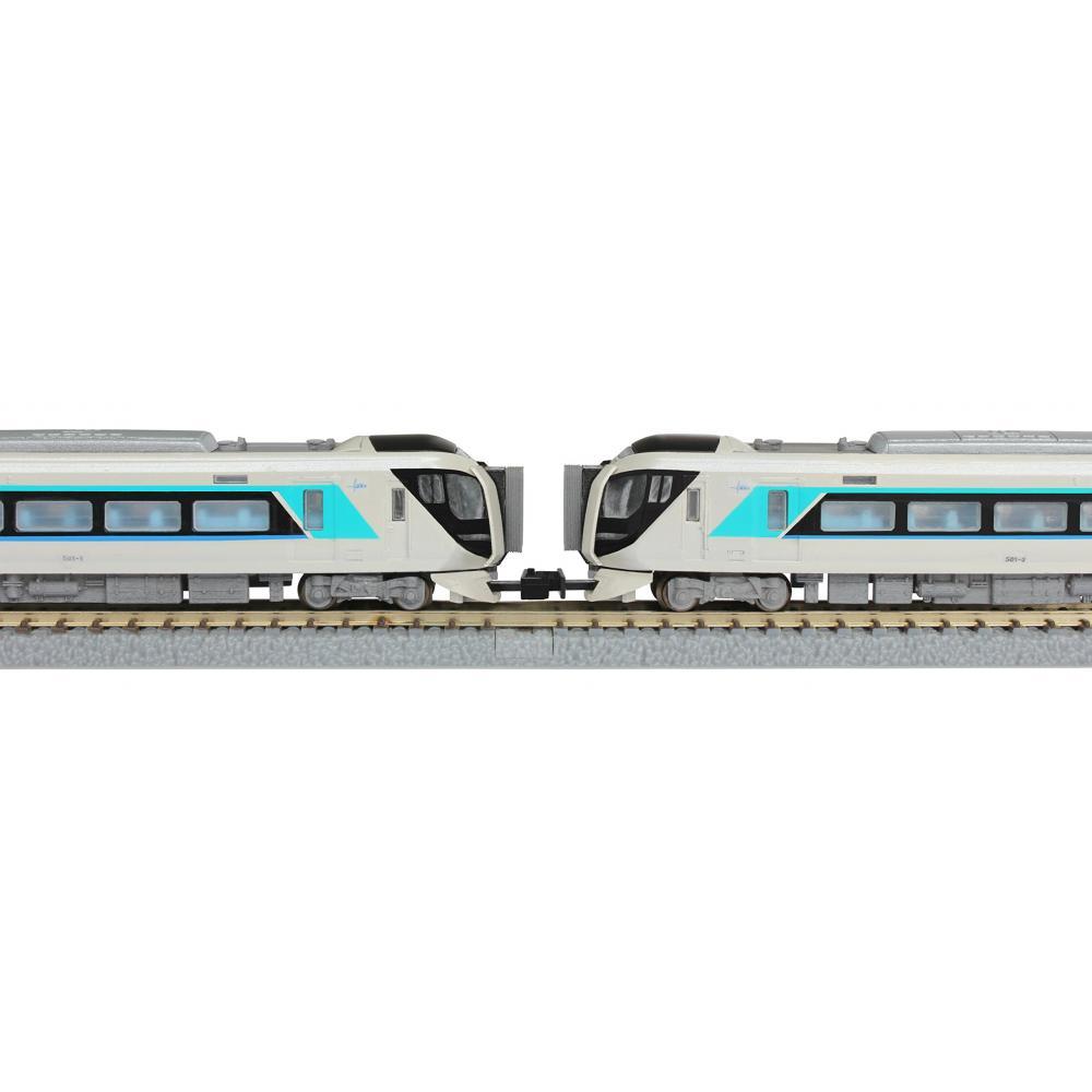 Rokuhan Z Scale Tobu Series 500 Train Limited Express Liberty Starter Set G006-1 Train Model Introductory Set