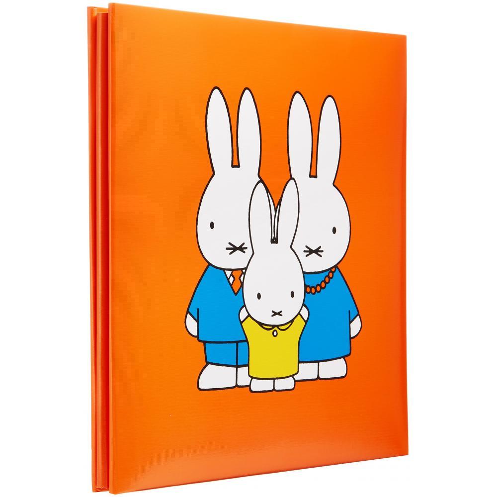 Nakabayashi Fuel Album S size Miffy Character Red A-SA-121-1