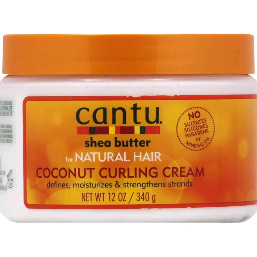 Cantu Shea Butter for Natural Hair Coconut Curling Cream 340g