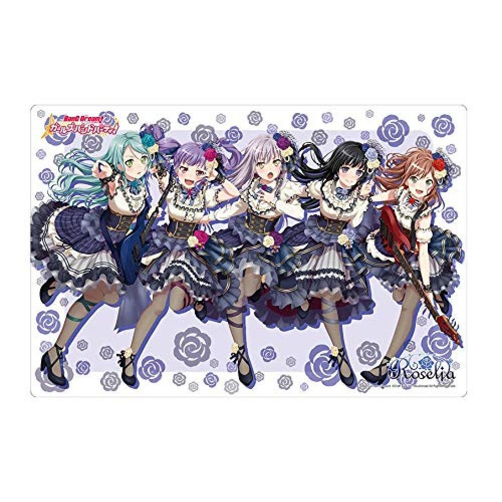 "Bushiroad rubber mat collection Vol.480 Bandori! Girl band party! ""Roselia Noble Rose"""