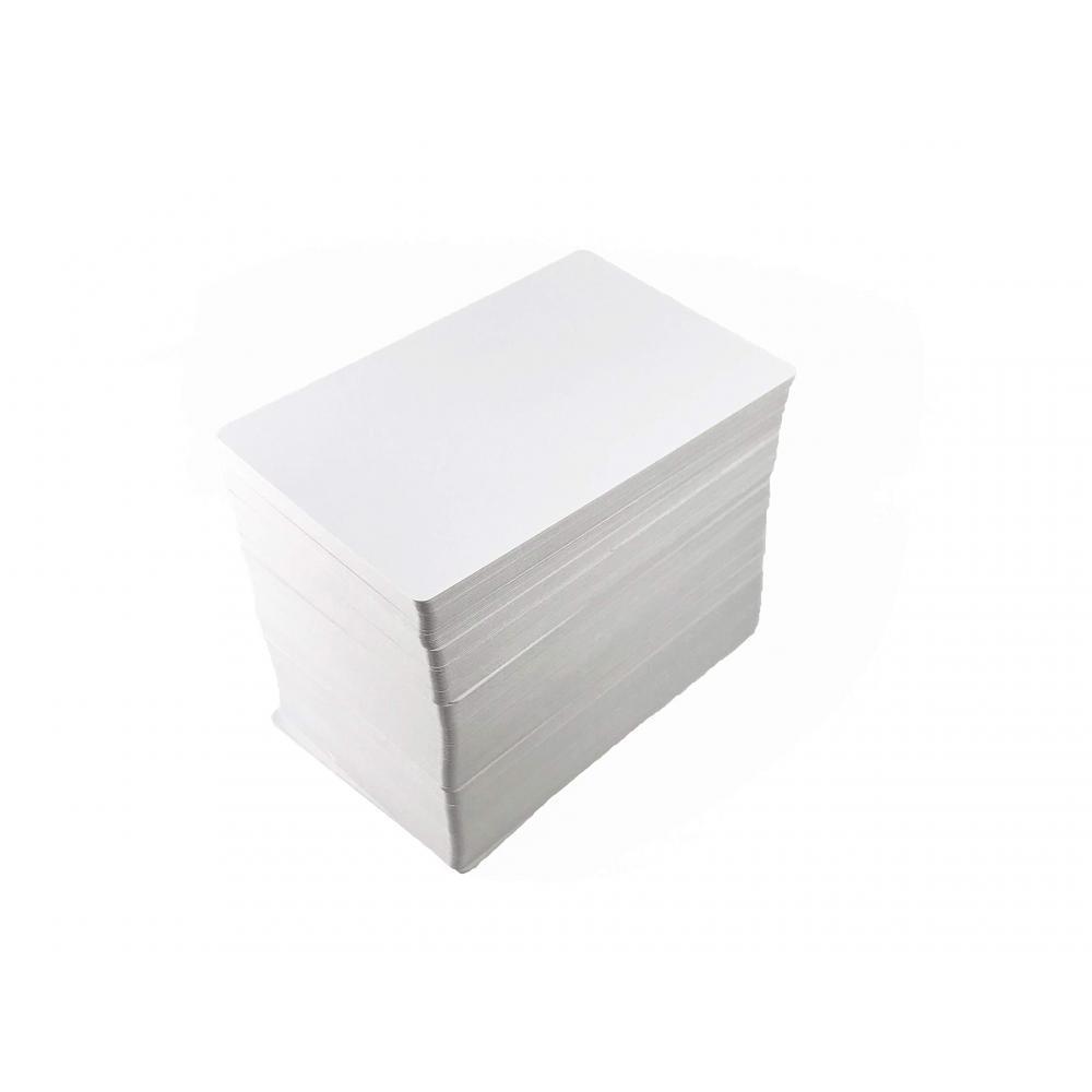 Blank playing cards bridge size mat finish