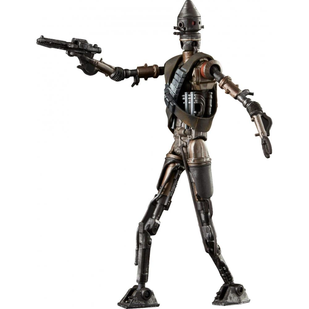 Star Wars / The Mandalorian Black Series 6 Inch Action Figure IG11 / Hasbro STAR WARS: THE MANDALORIAN 2019 BLACK SERIES 6inch Action Figure IG11 movie Hasbro spin-off drama