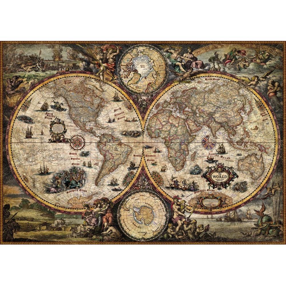 HEYE Puzzle Heipazuru 29666 Rajko Zigic: Vintage World (2000 pieces)