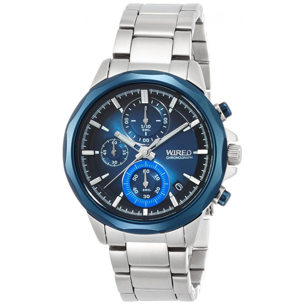 """[SEIKO WATCH] WIRELESS THE BLUE """"WATER BLUE"""" CHRONOGRAPH MODEL AGAT409"""