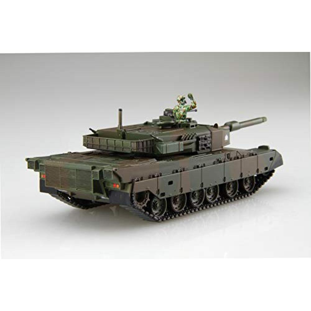 Fujimi model 1/76 Special World Armor Series No.3 Ground Self-Defense Force Type 90 Tank (2-Car Set) Plastic SWA3