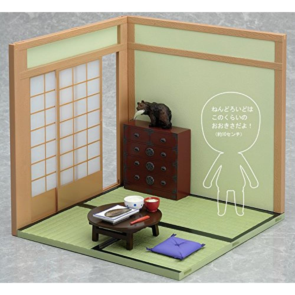 Nendoroid Play Set 02: Japanese Living A Dining Table Set Non-scale ABS&PVC Nendoroid Diorama Set