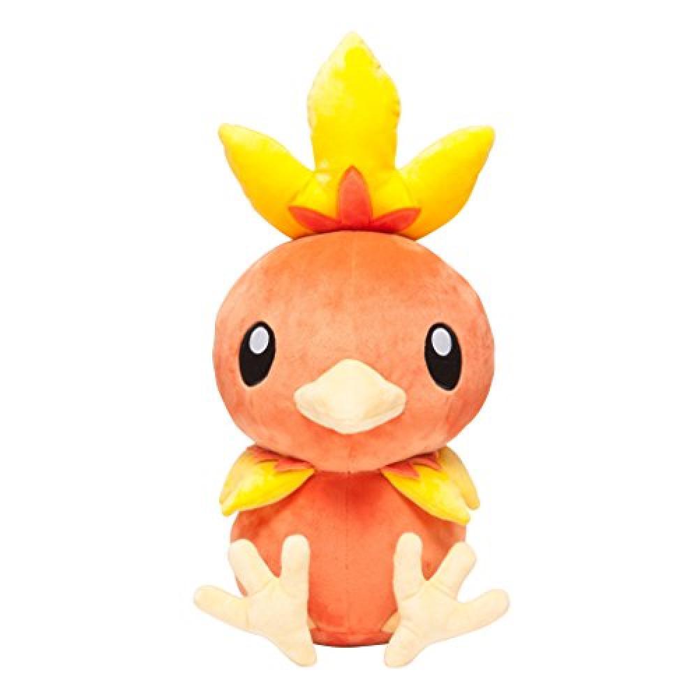 Pokemon Center Original Plush Doll Life-size Achamo-Sitting ver.-
