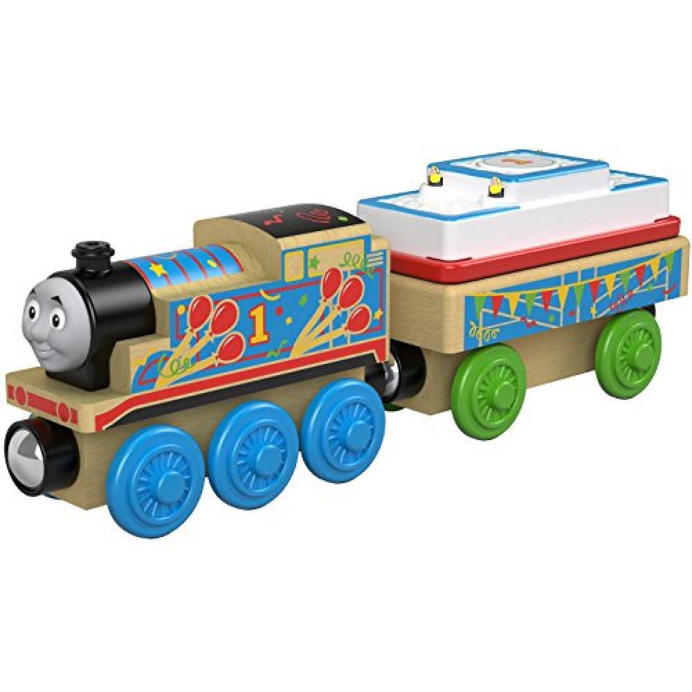 Thomas the Tank Engine wooden rail series birthday Thomas FHM61