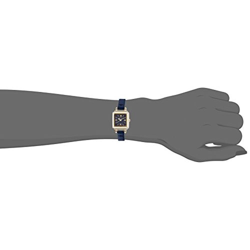 Fieldwork watch Fashion Watch nattito Tsuyan leather belt blue QKS113-3 Ladies Watch