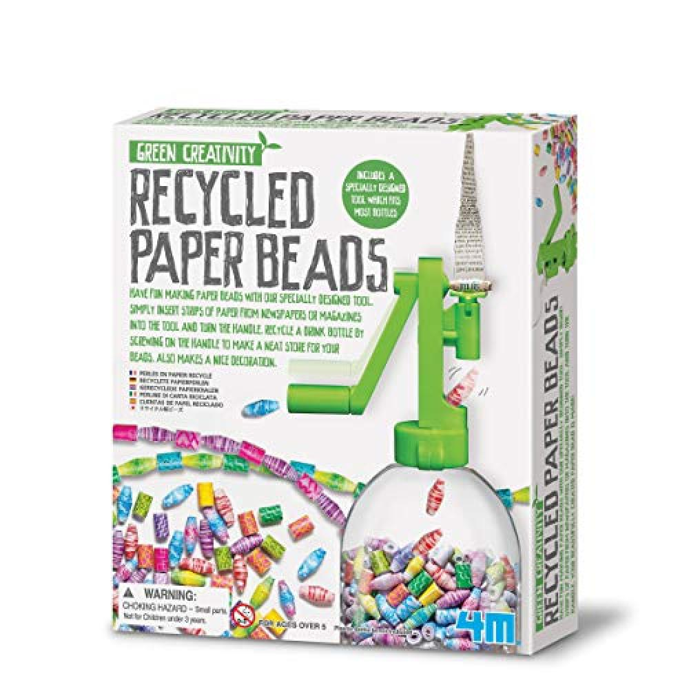 4M recycled paper beads 04588