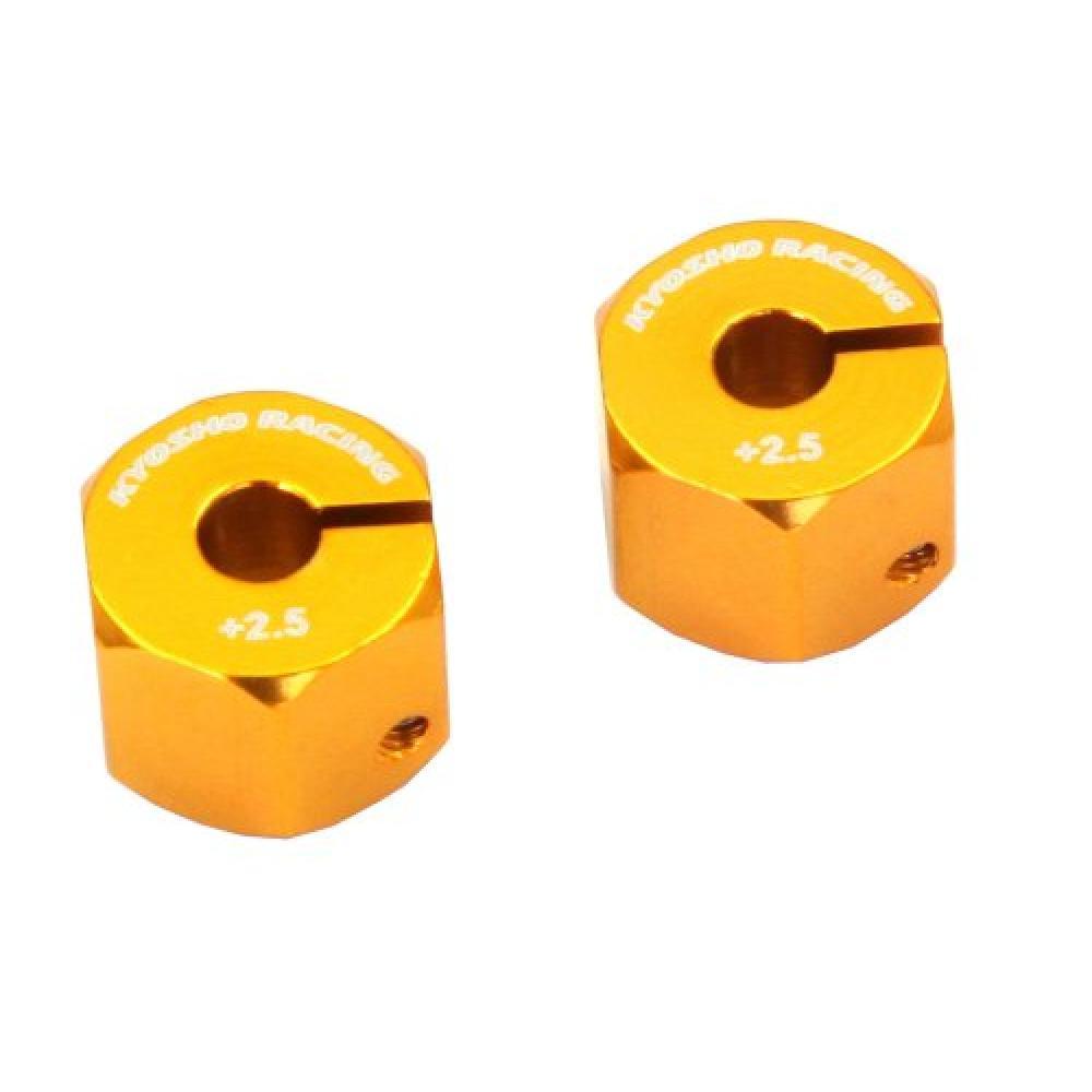 Kyosho aluminum wheel hub (2pcs / EZ Series / offset 2.5) parts for RC EZW016-25