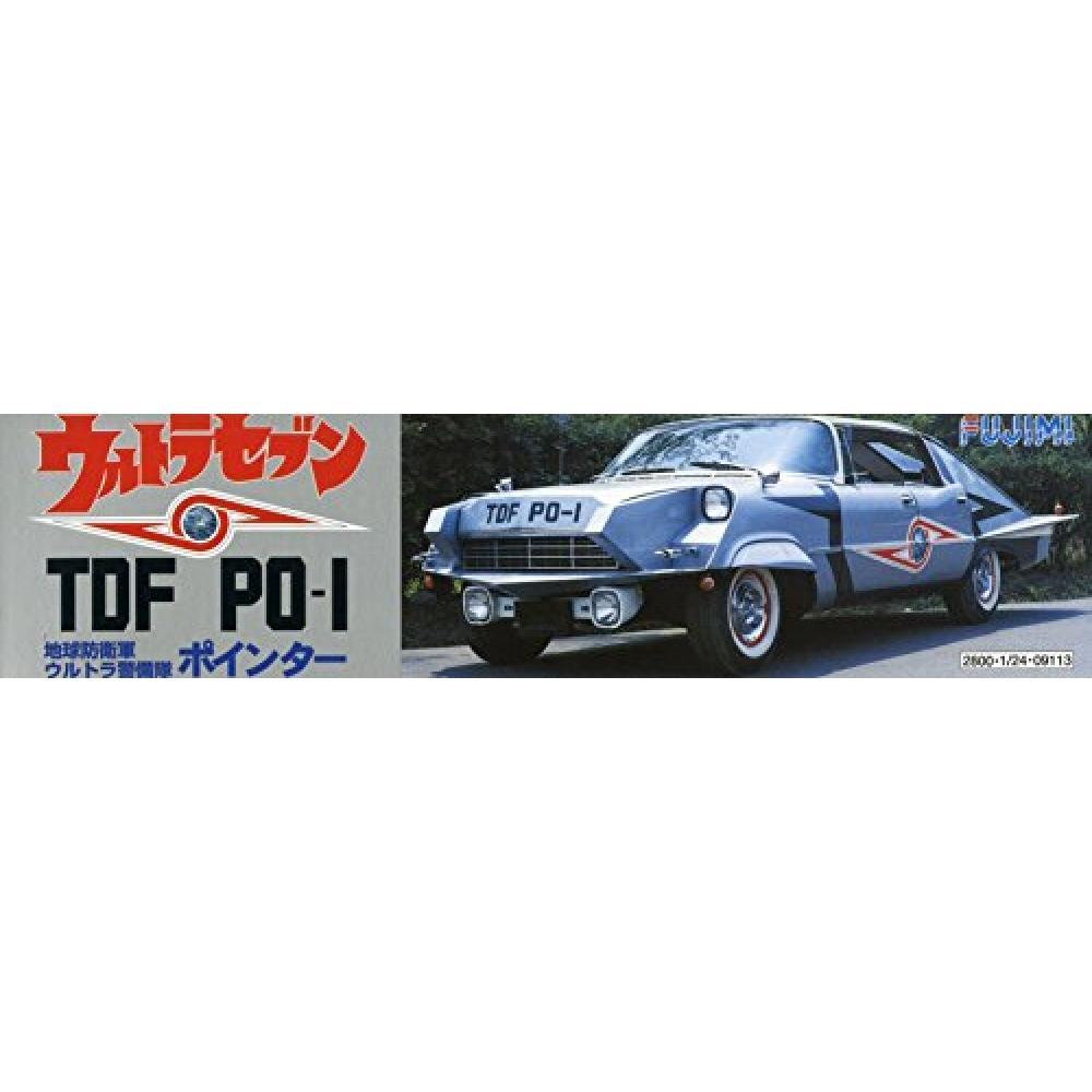 Fujimi model 1/24 Ultra Seven Series TDF PO-1 pointer