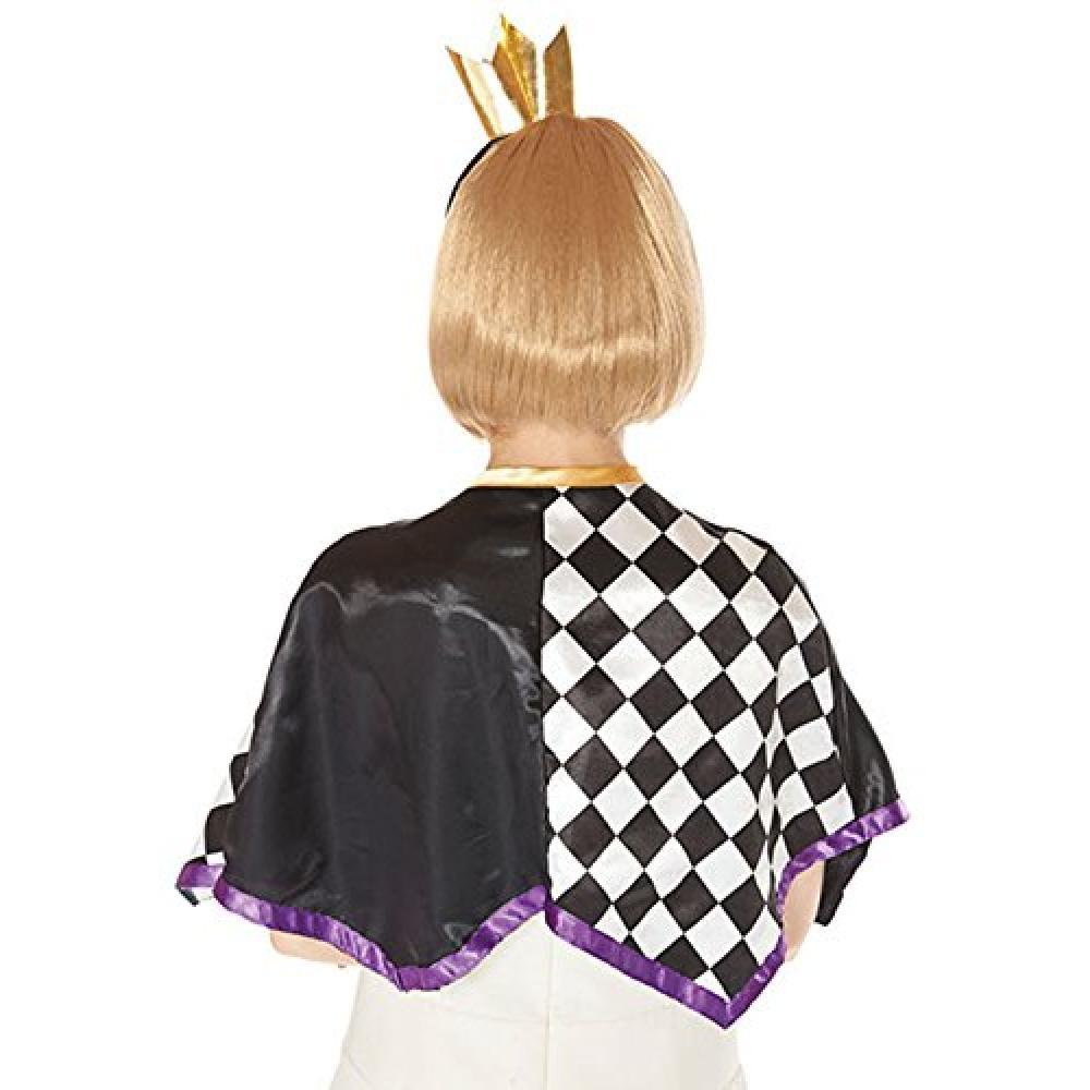 Crown Cape set costume accessories for ladies Length 42cm