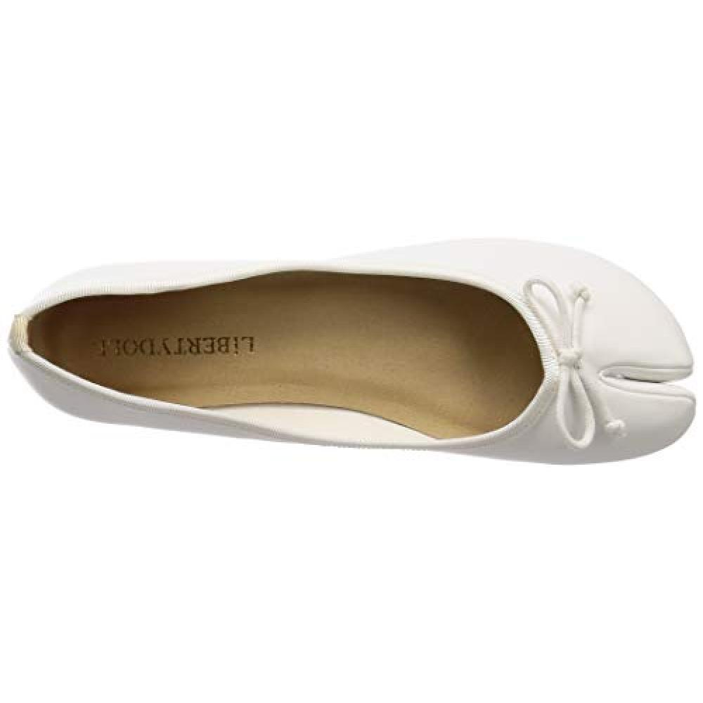 [Liberty Doll] flat Tabi ballet pumps / 5579 5579 Women's White S / M / L display L (24 cm)