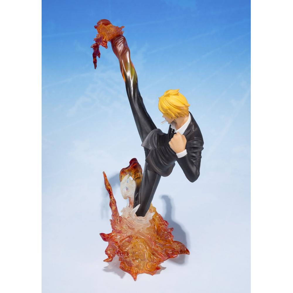 Figuarts ZERO ONE PIECE Sanji - devil Kazaashi primary minced meat - (Deer Bull Janbu Premiere Assi) about 160mm ABS & PVC painted PVC Figure