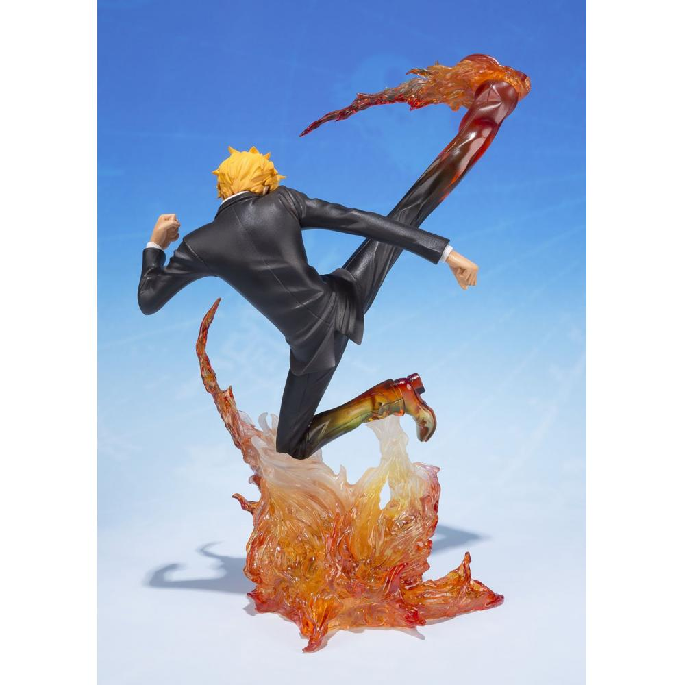 Figuarts ZERO ONE PIECE Sanji - devil Kazaashi primary minced meat - (Deer Bull Janbu Premiere Assi) about 160mm ABS & PVC painted PVC Figure
