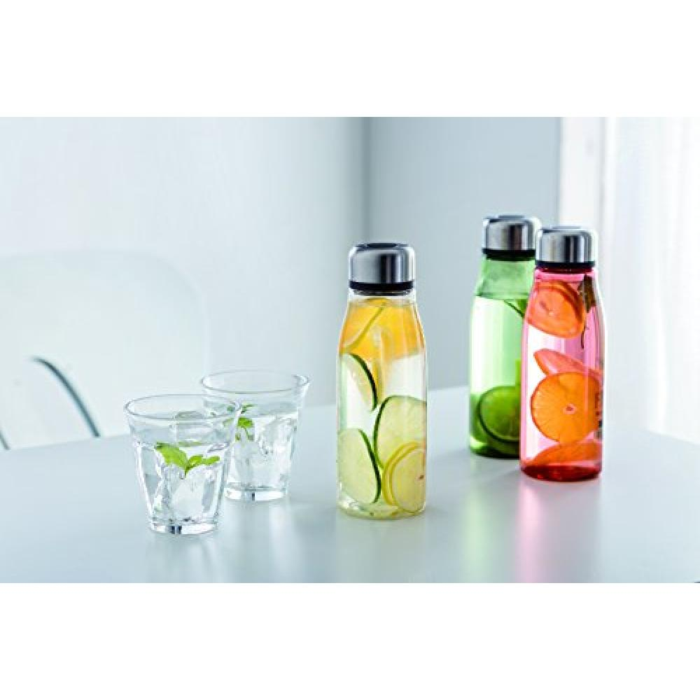 Skater direct drink water bottle 500ml water bottle with tea strainer Marche color pumpkin PTY5