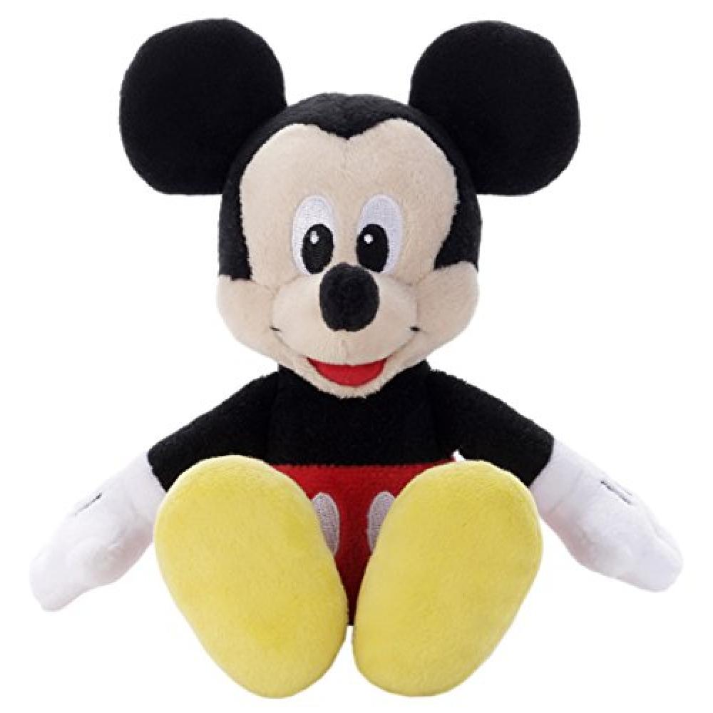 Disney beans collection 01 Mickey Mouse Nuigurumi sitting height 15cm