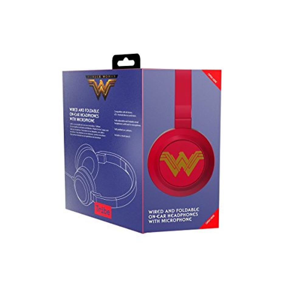 Tribe Hpw13303 Wonder Woman Headphones With Mic